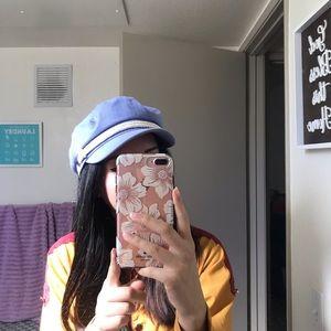 Lavender brixton fiddler hat